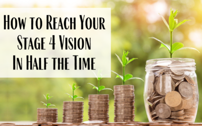 How To Reach & Live Your Lifeonaire Stage 4 Vision in Half The Time